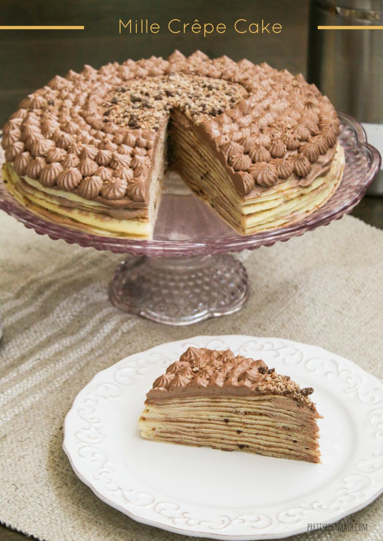 Mille Crepe Cake Milk Cardamom